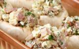 Champignons farcis au jambon cru