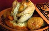Cailles farcies aux abricots fondants, semoule aux saveurs orientales