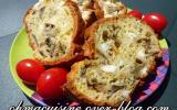 Cake feta aubergine et thym