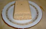 Pain de surimi, sauce rose