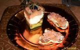 Verrines de saumon à l'avocat /saumon/boursin et ses minis barques saumonés