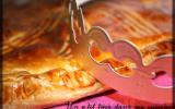P'tite galette des rois aux biscuits roses de Reims