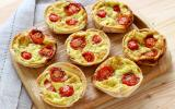10 mini tartelettes sucrées ou salées faciles à faire sans pâte à tarte