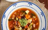 Recette de la traditionnelle soupe provençale au pistou