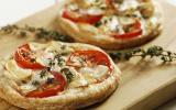 Tartelettes à la tomate et au chèvre