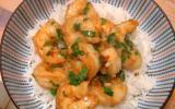 """Crevettes sautées à la sauce d""""huîtres"""