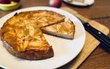 Gâteau invisible aux pommes facile