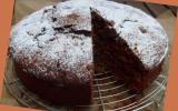 Gâteau aux courgettes et chocolat