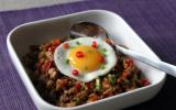 Nasi goreng: riz frit à l'indonésienne