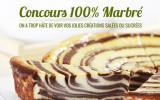 Concours 100% Marbré