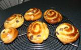 Petits pains aux raisins maison