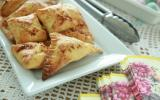 Samsa triangles aux amandes