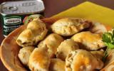 Empanadillas au champignons à la crème et au piment d'Espelette