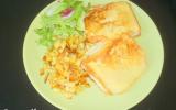 Croque monsieur végétarien et ses frites de panais