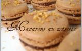 Macarons noisette façon nutella