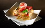 Terrine de courgettes à la mozzarella et au jambon Serrano Aoste Sélection