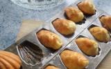 Petites madeleines roquefort et noix