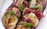 Tartine d'aubergine à l'italienne