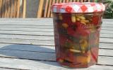 Confiture courgettes poivrons