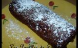 Roulé au chocolat et lemon curd