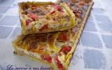 Quiche tomates thon et herbes de Provence