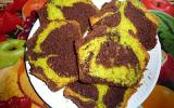 Cake marbré chocolat/pistache