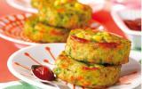 Croquettes de légumes au poulet