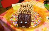 Hérisson au chocolat et amandes