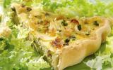 Tarte aux légumes et au tofu