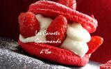Le big mac'aron fraise yuzu