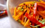Salade de potimarron au cerfeuil