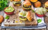 Mini-burgers aux steaks de haricots rouges