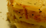 Gratin de panais et pommes de terre façon dauphinois