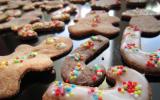 Petits sablés de Noël au chocolat et aux épices !