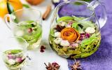Infusion maison à fleur de peaux de clémentines de Corse