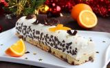 Bûche de Noël orange et chocolat