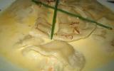 Ravioles de scampis à  la crème