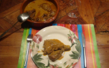 Poulet au curry cinghalais