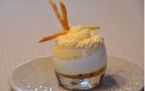 Panna cotta et crème chiboust aux fuits de la passion