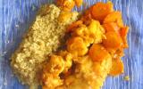Lotte au safran et quinoa