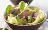 Salade d'agneau à la citronnelle