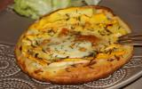 Tartes Fines Courgettes Boursin