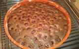 Gâteau chocolat marrons et griottes Thermomix