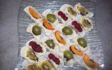 Sushi aux fruits frais