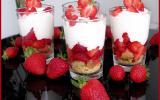 Trifle aux fraises gourmand