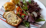 Cake au Roquefort Papillon et aux noix