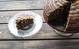 Gâteau zebra traditionnel