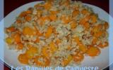 Poêlée de carottes nouvelles aux protéines de soja