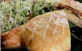 Côtes de veau en croûte à la normande