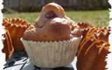 Doux muffins fraises / Coquelicot